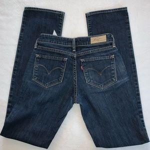 Levis Bold Curve Straight Leg Jeans size 25